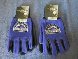 TWO  PAIR OF COLORADO ROCKIES, SPORT UTILITY GLOVES FROM FOR