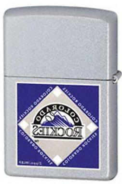 Zippo 22674 lighter mlb colorado rockies